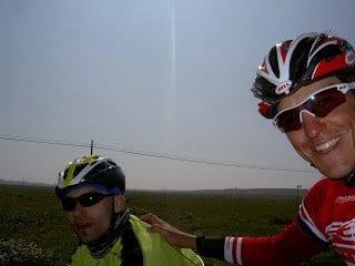 Salida en Huesca con Sergio Perez